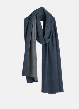 Majestic filatures - премиум коттоновый + кашемировый шарф – 34х238 см3