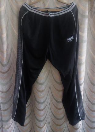 Спортивные штаны с лампасами на тонком утеплителе