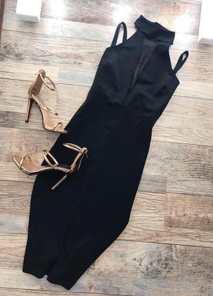 Шикарное платье-миди с красивой спинкой boohoo1