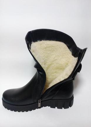 Полусапожки женские кожаные на платформе37-42размер3