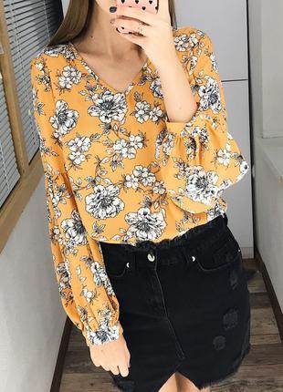 Нежная блуза в цветочный принт primark1