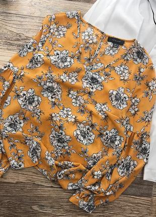 Нежная блуза в цветочный принт primark5
