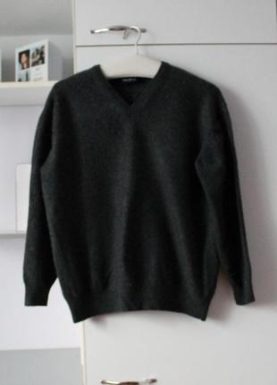 Кашемировый теплый плотный свитер от westbury, 100% кашемир