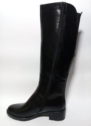 Сапоги женские кожаные зимние36-41размер1