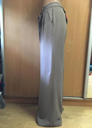 Шикарнейшие брюки палаццо с бантом карманами на высокий рост  размер 123 фото