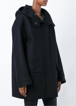 Шерстяное дизайнерское пальто тренч теплое оверсайз oversize кокон isabel marant étoile1