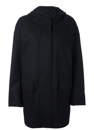 Шерстяное дизайнерское пальто тренч теплое оверсайз oversize кокон isabel marant étoile4