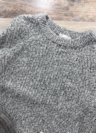 Базовый меланжевый свитер h&m4
