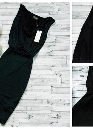 Стильное черное платье lipsy4