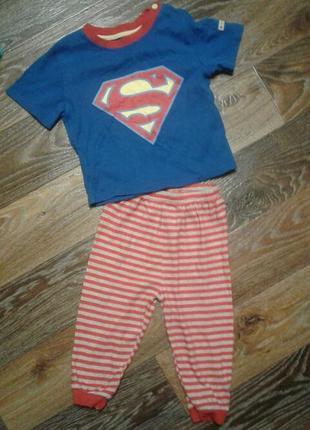 Пижама карнавальный костюм супермен