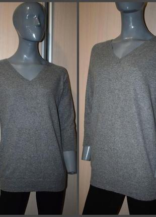 Кашемировый удлиненный свитер2