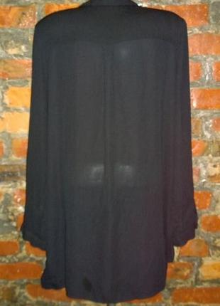Удлиненная рубашка блуза кофточка george2 фото