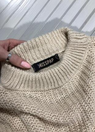 🌿 обалденный свитер с объемными рукавами от misspap5