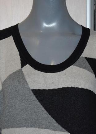 Платье-свитер, удлиненный свитер3 фото