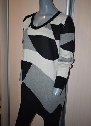 Платье-свитер, удлиненный свитер2 фото