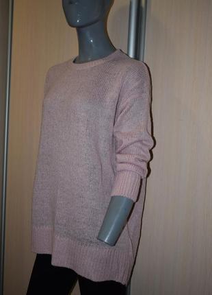 Пудровый свитер оверсайз2 фото
