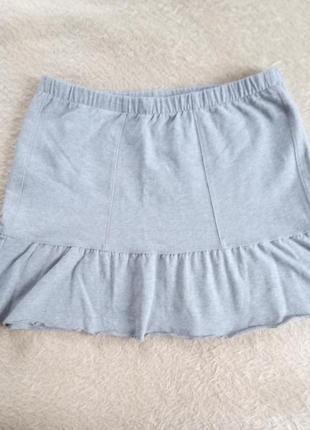 Короткая фирменная юбка р.50/52 на  красавицу
