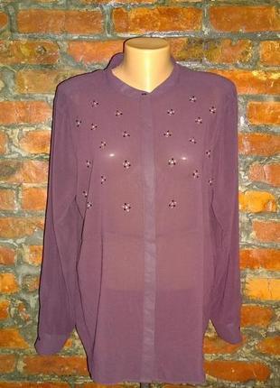 Блузка рубашка кофточка большого размера next1