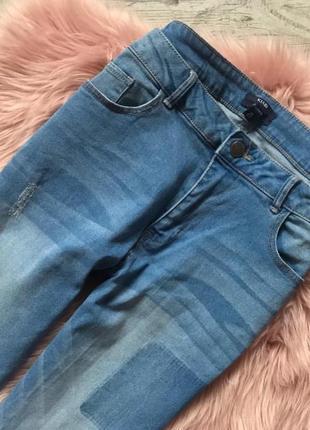 Крутые джинсы с рваным низом5