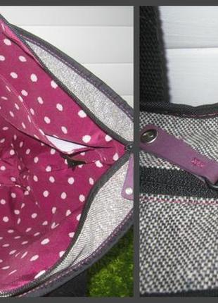 Большая, стильная сумка шоппер американского бренда timbuk24