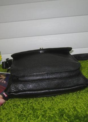 Актуальная кожаная сумка английского бренда debenhams  нат. кожа2