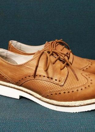 Туфли броги оксфорды pier one размер.37