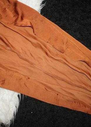 Особенное сатиновое ассиметричное платье5 фото