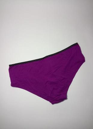 Фиолетовые эластичные трусики la senza uk 12 / 40 / m3
