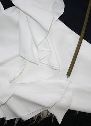 Восхитительное мини платье с воланами4
