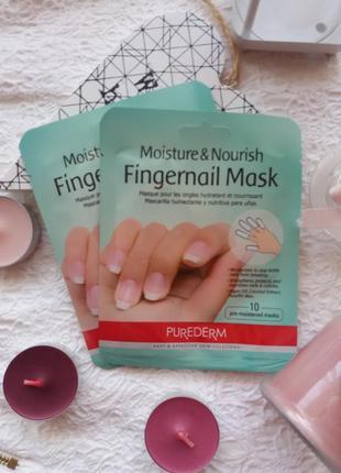 Маска для ногтей и кутикулы purederm