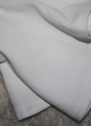 Изящное миди платье бюстье с воланом4