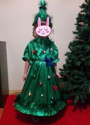 Карнавальный костюм елка, ялинка, елочка, 3-5л.