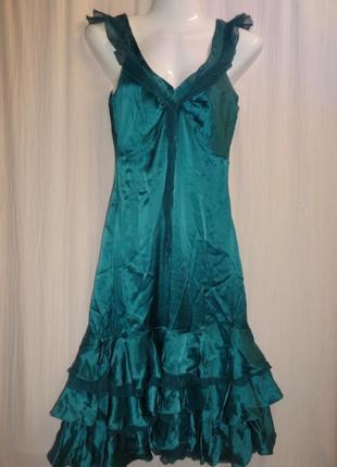 Платье massimo dutti шелк натуральный