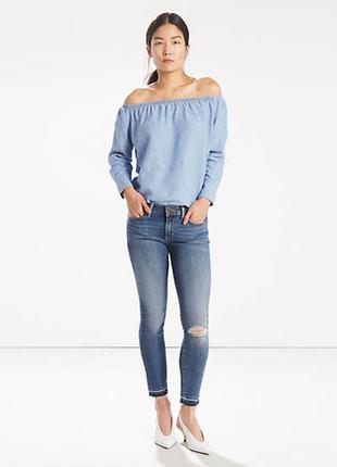 Джинсы levis 711 ankle jeans