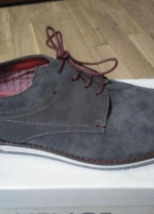 Новые мужские туфли  venice 46 размера/нові чоловічі туфлі