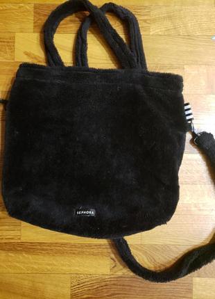 Меховая сумка под норку
