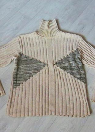 Мужской тёплый свитер, 58, оверсайз
