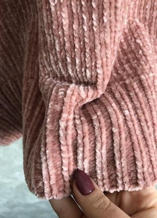 Бархатный свитер3 фото