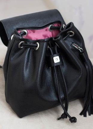 Акция! женский кожаный рюкзак. натуральная кожа!5