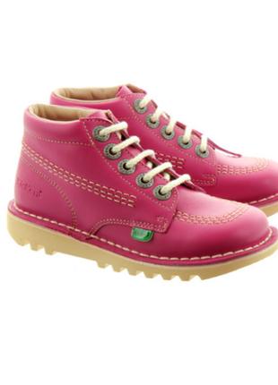 Кожа ботинки ортопедические kickers р. 27 стелька 17,3 см