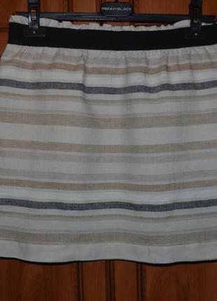 7-14.12 скидки до 70%! юбка из льна от дорогого бренда ann taylor1