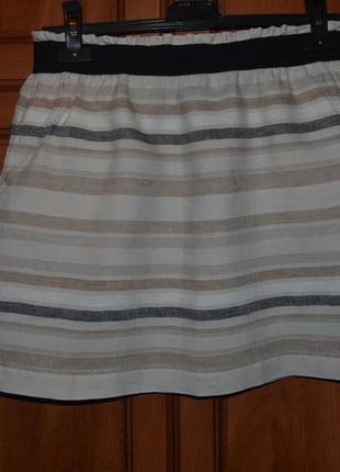 7-14.12 скидки до 70%! юбка из льна от дорогого бренда ann taylor2