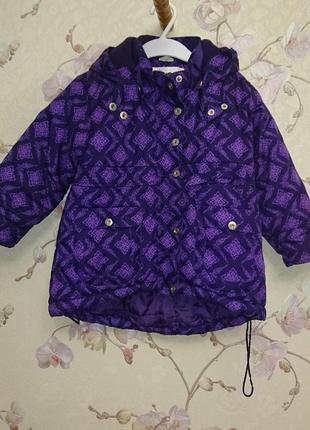 Зимняя куртка для девочки, 104-110