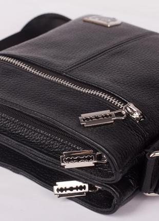 Отличный подарок мужчине! двусторонняя кожаная мужская сумка philipp plein3