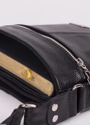 Отличный подарок мужчине! двусторонняя кожаная мужская сумка philipp plein4