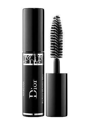 Тушь для ресниц dior diorshow in 090 pro black