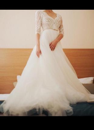 Свадебное платье esty style дизайнерское индивидуальный пошив