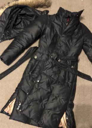 Пуховик куртка длинная , куртка- пальто towmy