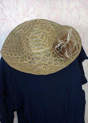 Шляпка пляжная1