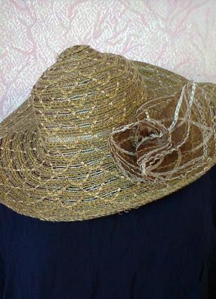 Шляпка пляжная2